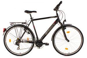 KS Cycling Climax Multi Vélo VTC trekking Homme 28″ Noir 53 cm