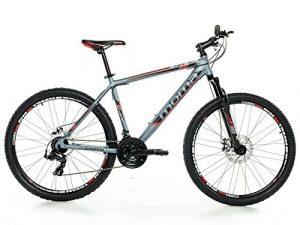 Vélo Tout Terrain 27,5″ VTT SHIMANO, aluminium, double disque et suspension