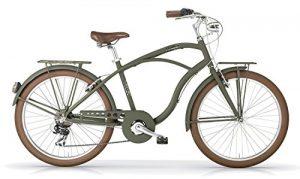 Vélo MBM MAUI 2016 cruiser homme (Vert militaire opaque, 26″)