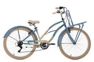 KS Cycling Kahuna Vélo Cruiser Femme, Bleu