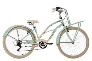 KS Cycling Kahuna Vélo Cruiser Femme, Vert