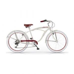 Mbm – Honolulu Homme Custom Cruiser 26» Bicyclette Vélo Man 6S Ivoire