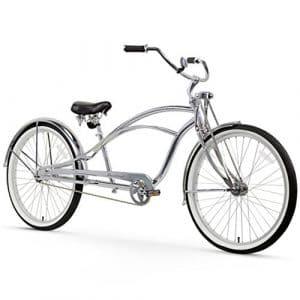 Firmstrong Urban Homme Deluxe Single Speed stretch Beach Cruiser Vélo, chrome