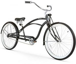 Firmstrong Urban Homme Deluxe Single Speed stretch Beach Cruiser Vélo, noir