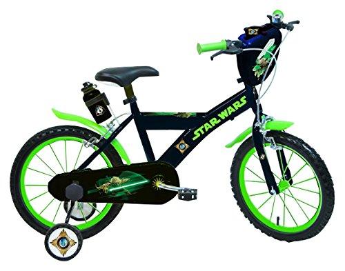Star Wars Yoda Vélo Enfant Noirt/Vert 16″